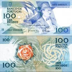 اسکناس 100 اسکودو - پرتغال 1988 تاریخ  24.11.1988