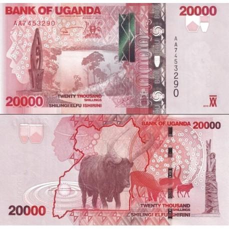 اسکناس 20000 شلینگ - اوگاندا 2010