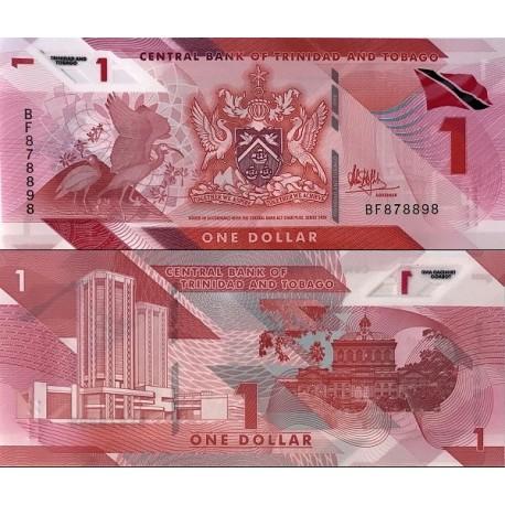 اسکناس پلیمر 1 دلار - ترینیداد توباگو 2020