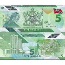 اسکناس پلیمر 5 دلار - ترینیداد توباگو 2020