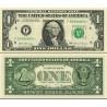 اسکناس 1 دلار - آمریکا 2017 سری F آتلانتا - مهر سبز