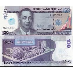 اسکناس 100 پیزو - یادبود صدسالگی ایگلسیا و کریستو - فیلیپین 2014