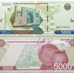 اسکناس 5000 سام - ازبکستان 2021