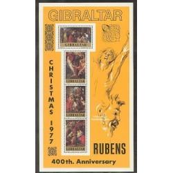 سونیرشیت کریستمس - تابلوهای نقاشی اثر روبن - جبل الطارق 1977