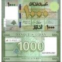 اسکناس 1000 لیر - لبنان 2016   کاغذی