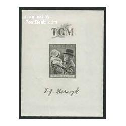 سونیرشیت توماس ماریسک - چک اسلواکی 1938