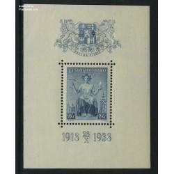 سونیرشیت بیستمین سال جمهوری - چک اسلواکی 1938