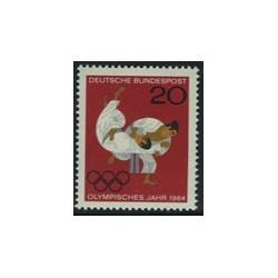 1 عدد تمبر المپیک - آلمان 1964