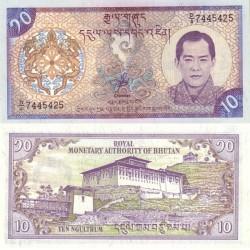 اسکناس 10 نگولتروم - بوتان 2000