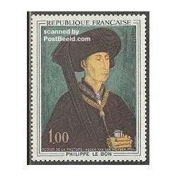 1 عدد تمبر تابلو اثر ون در ویدن - فرانسه 1969