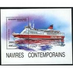 خرید تمبر خارجی- سونیرشیت کشتیها - ماداگاسکار 1994