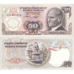 اسکناس 50 لیر - ترکیه 1970