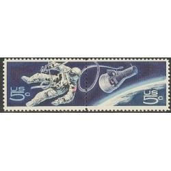 2 عدد تمبر ناسا - آمریکا 1967