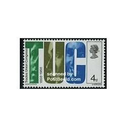1 عدد تمبر کنگره اتحادیه تجاری - انگلستان 1968