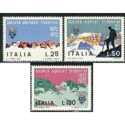 3 عدد تمبر باشگاه کوهستان - ایتالیا 1972