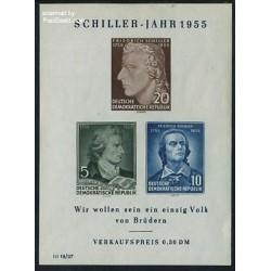 س ش فردریش شیلر - شاعر،فیلسوف و نمایشنامه نویس - آلمان 1955