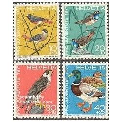 4 عدد انجمن حمایت از کودکان و نوجوانان - پرندگان - سوئیس 1971