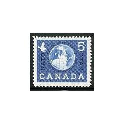 1 عدد تمبر ناتو - کانادا 1959