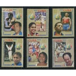 6 عدد تمبر بازیهای المپیک لندن - کوبا 2012