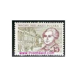 1 عدد تمبر روز جهانی پست - I.F. Przebendowski - لهستان 1987