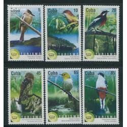 6 عدد تمبر پرندگان - کوبا 2011