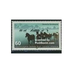 1 عدد تمبر سال محیطی اروپا - آلمان 1987