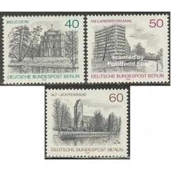 3 عدد تمبر مناظر برلین  - آلمان 1978