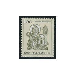 1 عدد تمبر ولفگانگ مقدس - آلمان 1994