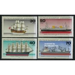 4 عدد جوانان - کشتی ها - آلمان 1977