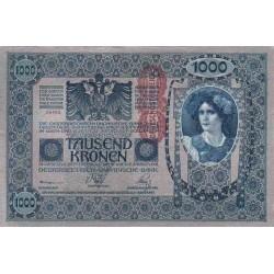 اسکناس 1000 کرون - اتریش 1902 کیفیت AUNC - سفارشی