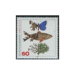 1 عدد تمبر حفاظت از محیط زیست - آلمان 1981