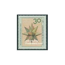 1 عدد تمبر کریستمس - آلمان 1973