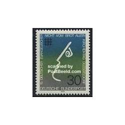 1 عدد تمبر روز پروتستان - آلمان 1973