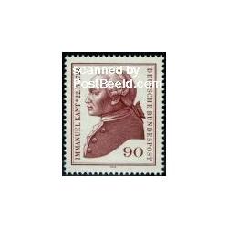 1 عدد تمبر ایمانوئل کانت - فیلسوف - آلمان 1974