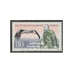 1 عدد تمبر آلفرد برهم - تصویرگر طبیعت و نویسنده - برلین آلمان 1984 قیمت 8.5 دلار