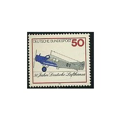 1 عدد تمبر لوفتانزا - آلمان 1976