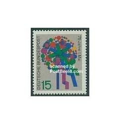 1 عدد تمبر روز آزادی - آلمان 1965