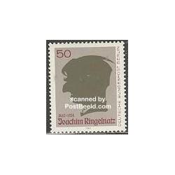 1 عدد تمبر Joachim Ringelnatz - نویسنده و نقاش - آلمان 1983