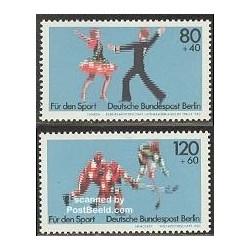 2 عدد تمبر رزشی - آلمان 1983
