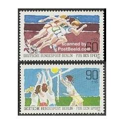 2 عدد تمبر ورزشی - آلمان 1982