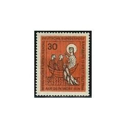 1 عدد تمبر روز کاتولیک - آلمان 1966