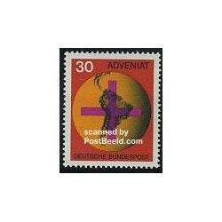 1 عدد تمبر کلیسای آمریکای جنوبی - آلمان 1967