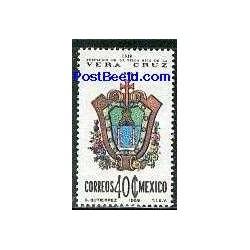1 عدد تمبر ایالت وراکروس - مکزیک 1969