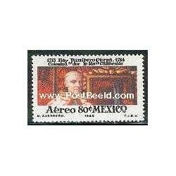 1 عدد تمبر مبلغان مذهبی اسپانیائی - مکزیک 1969
