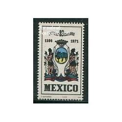 1 عدد تمبر شهر مونتری - مکزیک 1971