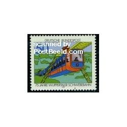 1 عدد تمبر ترن برقی - آلمان 1976
