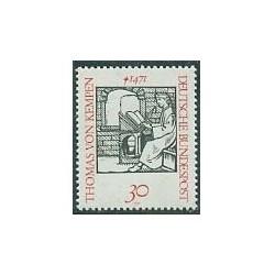 1 عدد تمبر توماس وون کمپن - آلمان 1971