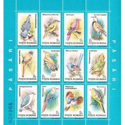 مینی شیت پرندگان - 1 - رومانی 1991