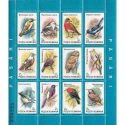 مینی شیت پرندگان - 2 - رومانی 1991