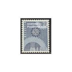 1 عدد تمبر مشترک اروپا - Europa Cept - سوئیس 1967